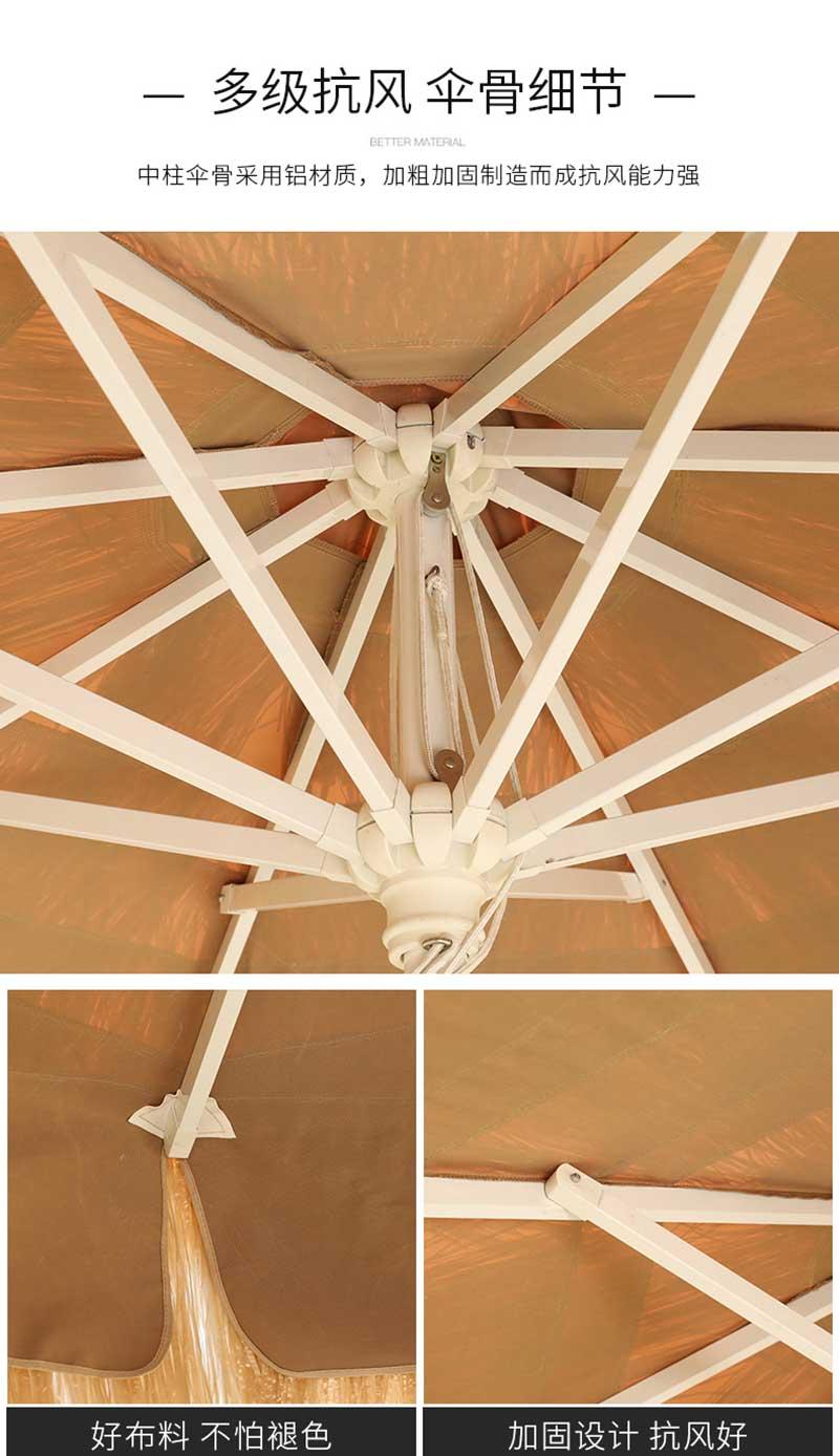 稻草伞 结构