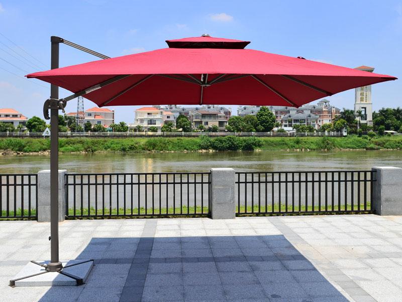 维修遮阳伞-罗马伞一般故障排除